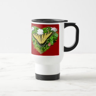 Valentine Tiger Swallowtail Butterfly Items 15 Oz Stainless Steel Travel Mug
