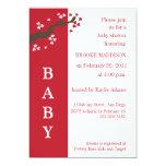 Valentine Tree Baby Shower Invitation