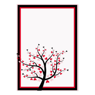 Valentine Tree Business Card