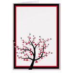 Valentine Tree Card