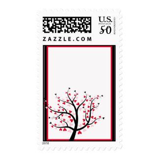 Valentine Tree Postage
