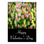 valentine tulips greeting card