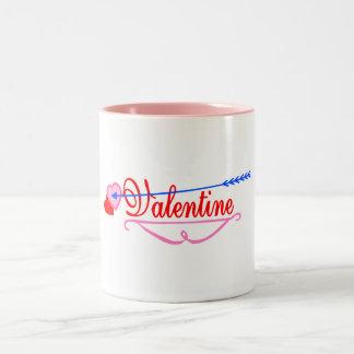 Valentine Two-Tone Coffee Mug