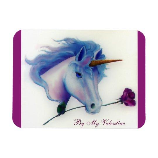 Valentine Unicorn Magnet