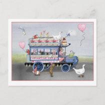 Valentine Van Postcard