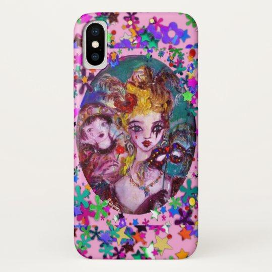 VALENTINE VENETIAN MASQUERADE iPhone X CASE