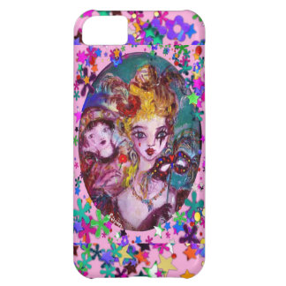 VALENTINE VENETIAN MASQUERADE MASKS AND CONFETTI COVER FOR iPhone 5C