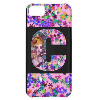 VALENTINE VENETIAN MASQUERADE MONOGRAM C LETTER COVER FOR iPhone 5C
