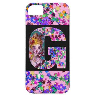 VALENTINE VENETIAN MASQUERADE MONOGRAM G LETTER iPhone SE/5/5s CASE