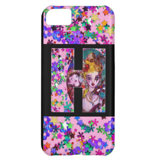 VALENTINE VENETIAN MASQUERADE MONOGRAM H LETTER CASE FOR iPhone 5C