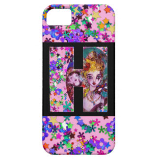 VALENTINE VENETIAN MASQUERADE MONOGRAM H LETTER iPhone SE/5/5s CASE