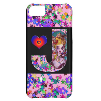 VALENTINE VENETIAN MASQUERADE MONOGRAM J LETTER CASE FOR iPhone 5C