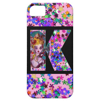VALENTINE VENETIAN MASQUERADE MONOGRAM K LETTER iPhone SE/5/5s CASE