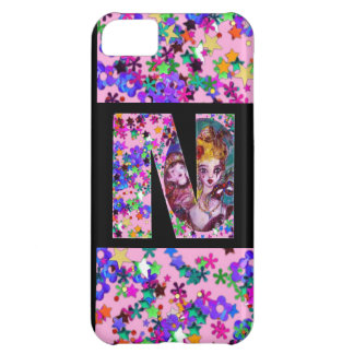 VALENTINE VENETIAN MASQUERADE MONOGRAM M LETTER CASE FOR iPhone 5C