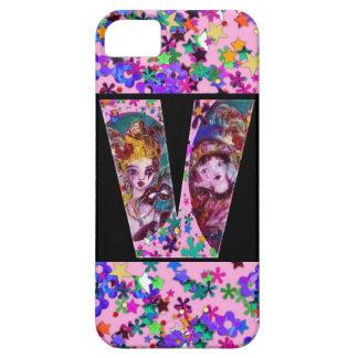 VALENTINE VENETIAN MASQUERADE MONOGRAM V LETTER iPhone SE/5/5s CASE
