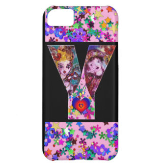 VALENTINE VENETIAN MASQUERADE MONOGRAM Y LETTER COVER FOR iPhone 5C