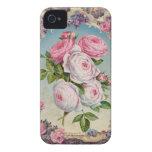 Valentine Victorian Roses Case-Mate iPhone 4 Cases