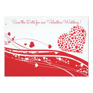 Valentine Wedding Save the Date Card