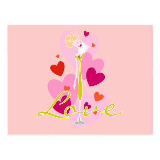 Valentine Whimsy Love Post Cards