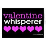 Valentine Whisperer Greeting Cards