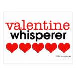 Valentine Whisperer Postcard