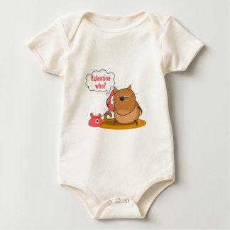 Valentine Who? Baby Bodysuit