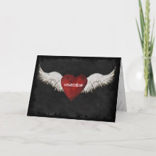 Valentine Wings Card