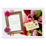 Valentine Wishes Greeting Card