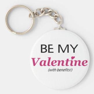 Valentine With Benefits Keychain
