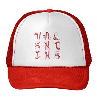 """Valentine"" Written with Ribbons Trucker Hat"
