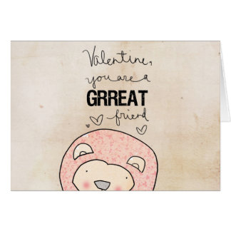 Valentine you are a Grreat friend by VOL25 Card