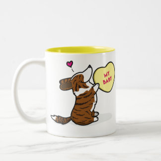 Valentine's 2015-Cardigan Corgi-Brindle Coffee Mug