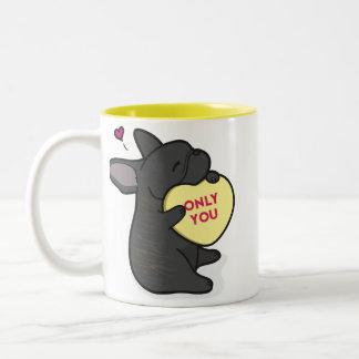 Valentine's 2015-French Bulldog-Brindle Coffee Mug