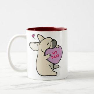 Valentine's 2015-French Bulldog-Fawn Coffee Mug