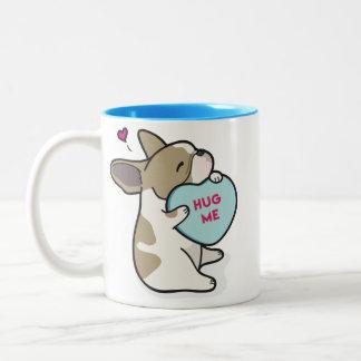 Valentine's 2015-French Bulldog-Fawn Pied Mug
