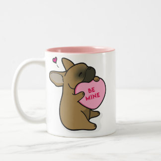 Valentine's 2015-French Bulldog-Red Fawn Mug