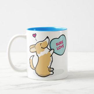 Valentine's 2015-Pembroke Corgi-Red Coffee Mug