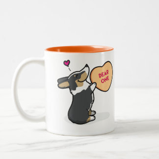 Valentine's 2015-Pembroke Corgi-Tri-Col Coffee Mug