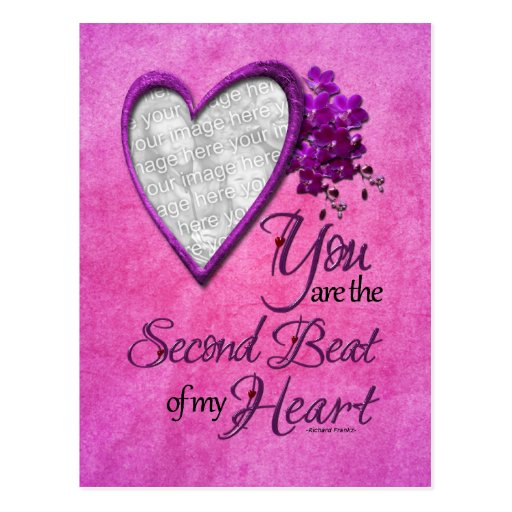 Valentines - 2nd Beat of My Heart Postcard
