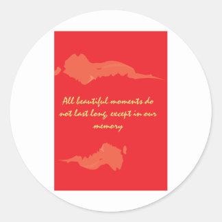 valentines-3 classic round sticker