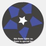 valentines-8 round stickers