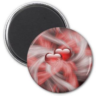 valentines, Anniversary,love 2 Inch Round Magnet