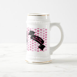 Valentines - Boston Terrier Silhouette Mug