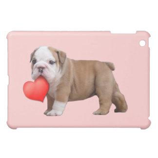 Valentine's bulldog puppy ipad Speck Case Case For The iPad Mini