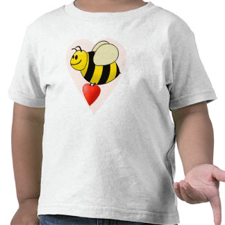 Valentine's Bumble Bee - Bee my Valentine T-shirts