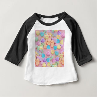 valentines candy hearts baby T-Shirt