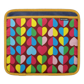 Valentines Candy Hearts iPad Sleeve