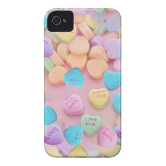 valentines candy hearts iPhone 4 Case-Mate case