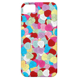 Valentines Candy Hearts-iPhone 5/5s Case