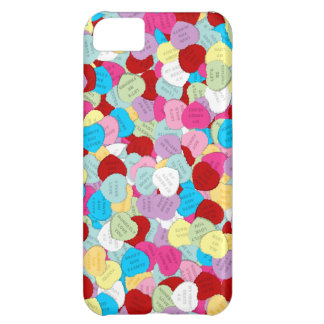 Valentines Candy Hearts-iPhone 5c Case